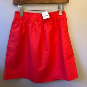 NWT J. Crew Sidewalk Skirt